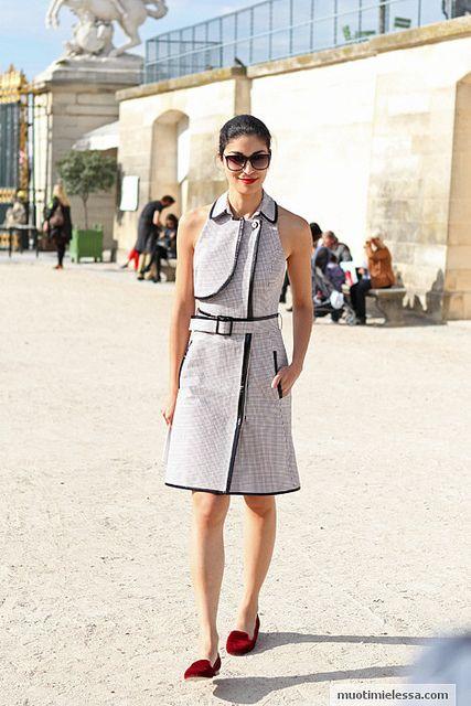 Paris Fashion Week Caroline Issa