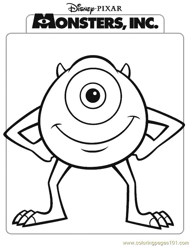1551 best printable colouring pages 1 images on pinterest | adult ... - Monsters Coloring Pages Sully