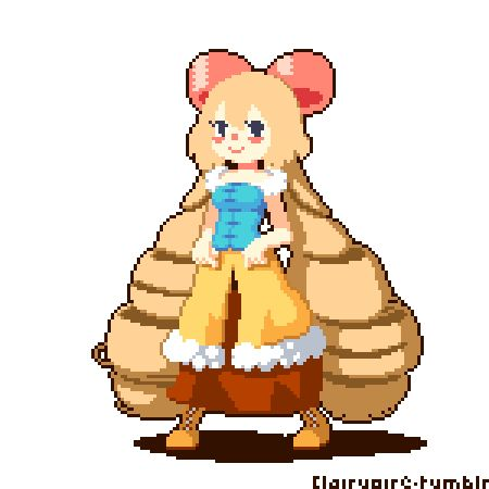 I always wanted to animate a fightin' game sized sprite, hehee.   I'll try to post art more often, sorry for disappearing all that time!