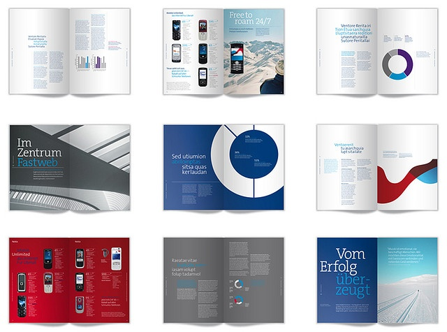 Swisscom literature and product catalogue designs   By movingbrands
