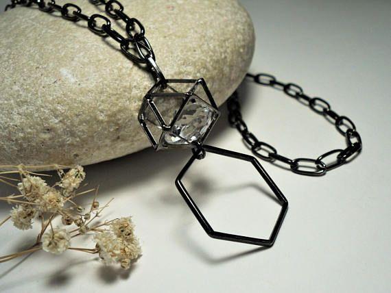 Luxury Black Eyeglasses Chain Lanyard 26-34 New