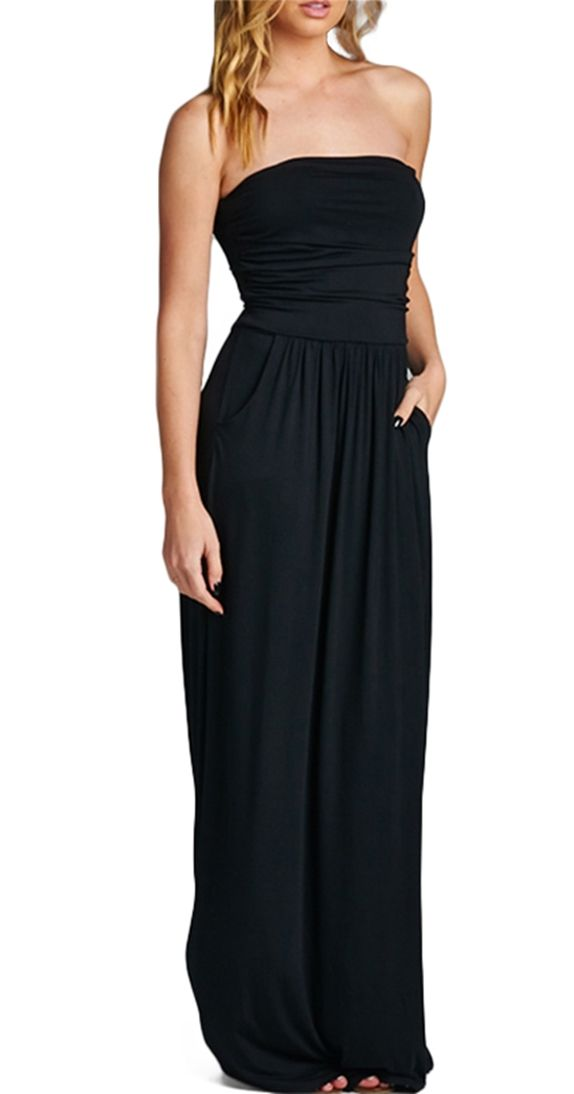 Shrug it off maxi! Dress it up or down...perfect for any summer day or night out!