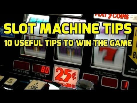 Video Slot Machine Strategy