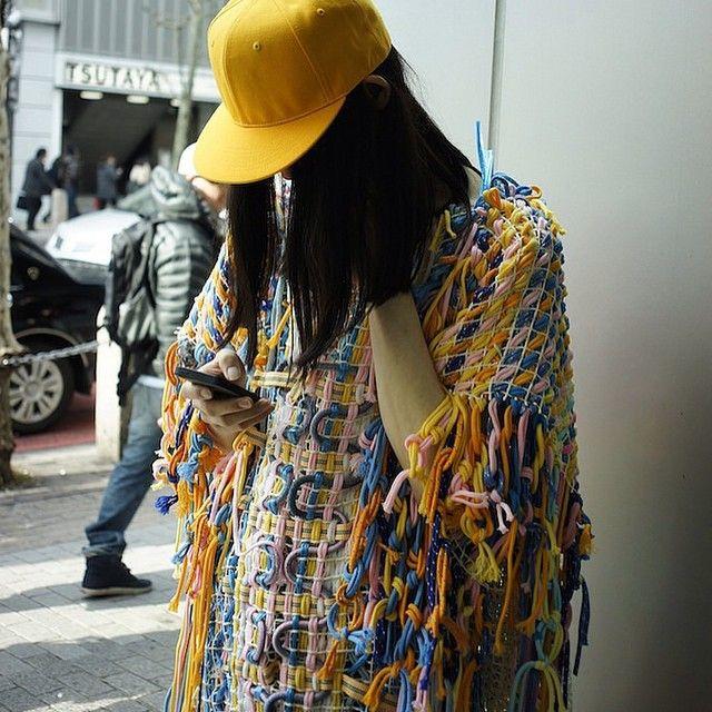 #mywork #menswear #fashiondesign #textile #dazedandexposed #fashion #artstudent #shibuya #textiledesign #street #tokyo #fashionstudent