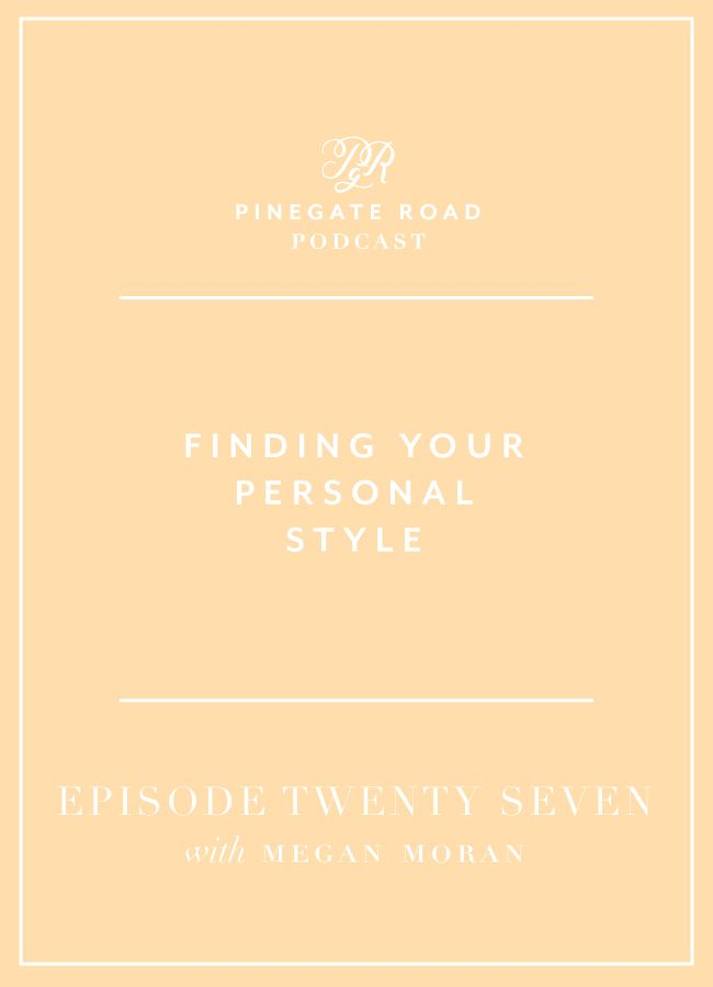 Are you struggling with your personal style? It's an area of my life (and really, my business) that I've been neglecting for the past few years which is why I'm especially excited for today's episode. I really wanted to talk about personal style in relation to finding your happiness in your life and growing your business, alongside tips and tricks for finding your personal style.