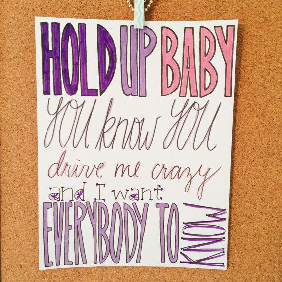 Kiss Me Quick Nathan Skyes Lyric Drawing by AlexiasDrawings