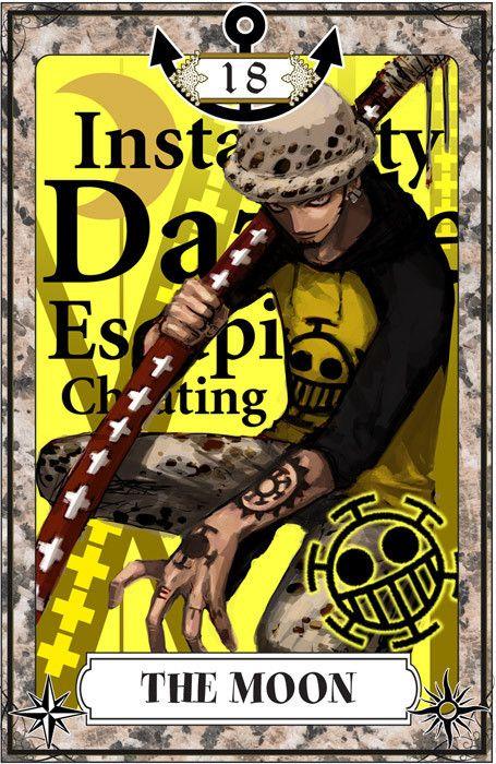 Crunchyroll - One Piece Tarot Card Art!