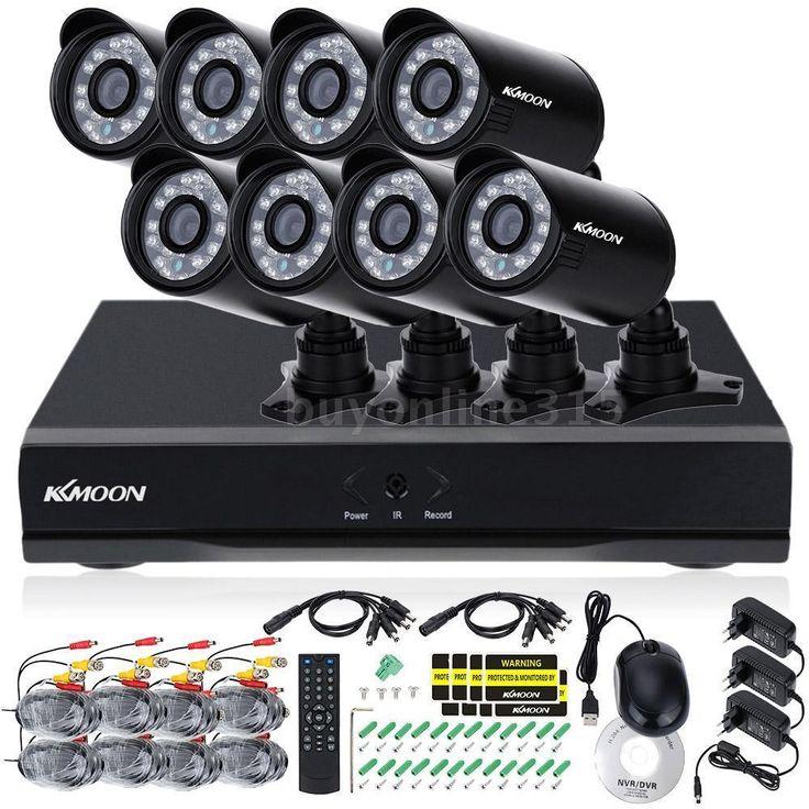 8pcs 800TVL IR Kamera mit 16CH CCTV 960H DVR Überwachung Sicherheitssystem R65S in Heimwerker, Sicherheitstechnik, Überwachungstechnik | eBay!