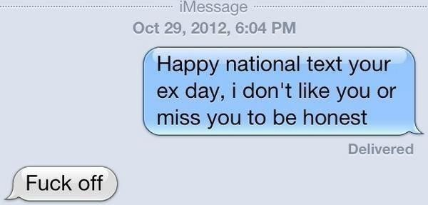Texts From Crazy Ex's are the Worst http://randomlyfunnystufff.com/psycho-girlfriend-text-fails