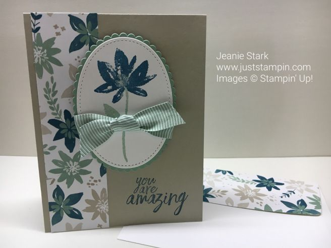 FREE Avant Garden Stamp Set from the 2017 Stampin' Up! Sale-A-Bration catalog. www.juststampin.com
