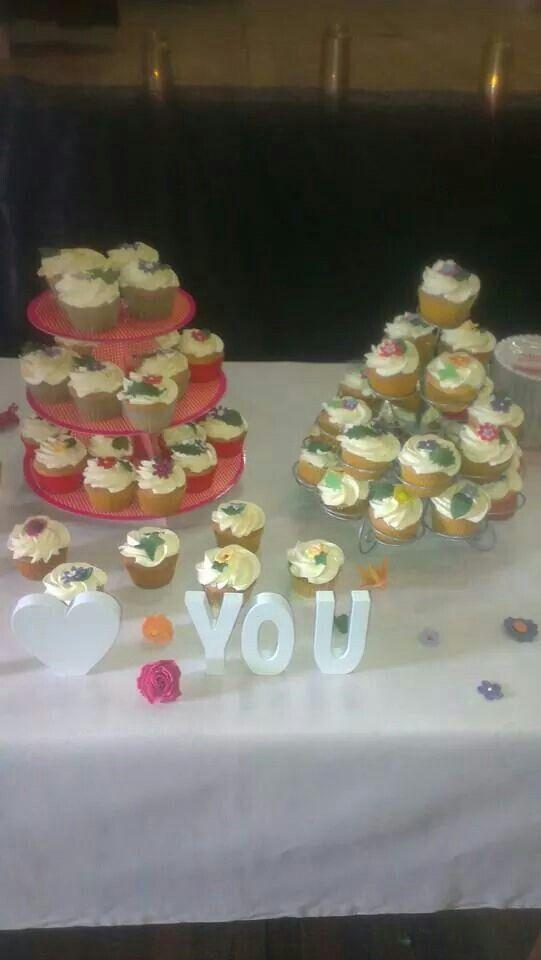 Cupcakes voor een bollywood bruiloft