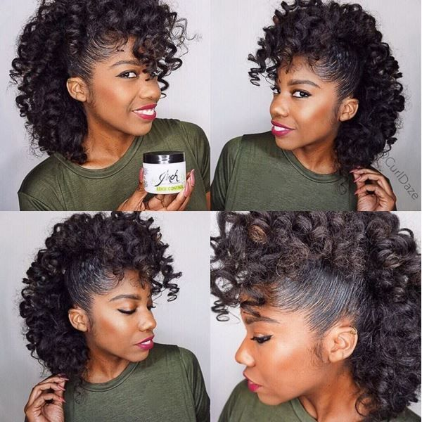 Easy Hairstyles For Natural Hair easy and quick natural fro short hairstyle for summer natural short fro hairstyle for summer with headband Httpcommunityblackhairinformationcomhairstyle Gallerynatural Hairstylesa Fro Hawk To Die For Natural Hairstyles Pinterest