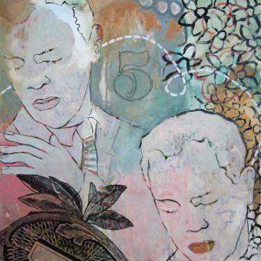 "Saatchi Art Artist Elizabeth Bruno; Painting, ""Spent"" #art"