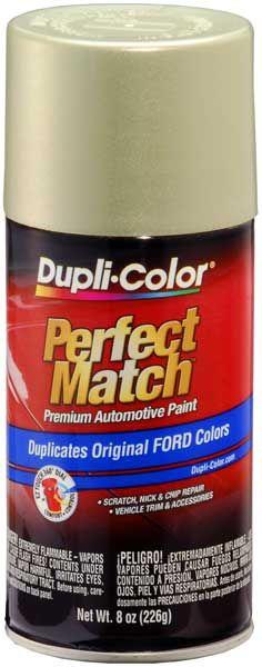 Ford/Lincoln Metallic Gold Ash Auto Spray Paint - C2 (2003-2007) - DUPBFM0376