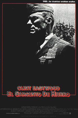Cinelodeon.com: El sargento de hierro. Clint Eastwood.
