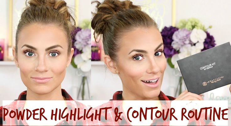 How To: Highlight & Contour with Powder || Anastasia Beverly Hills Contour Kit Tutorial #HelloGorgeous #AngelaLanter #HelloGorgeousTV