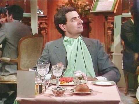 Mr Bean - Steak Tartare - love, love, love!  Intro to my food unit!
