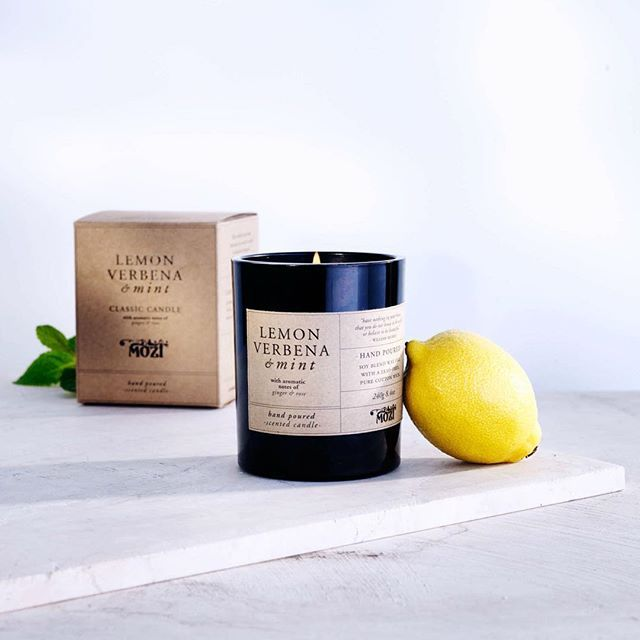 A fresh start to the week requires a fresh fragrance! Shop the lemon verbena and mint fragrance in-store and online.