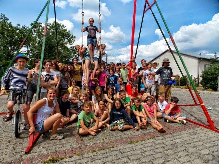 Musicircus w Juchowie: Wakacje 2014 z Letnią Szkołą Cyrkową w Juchowie