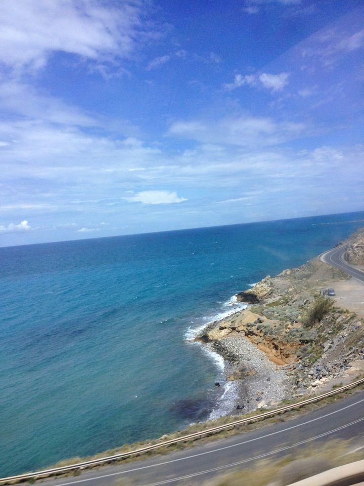 Beautiful nature, wild see, wondering beaches