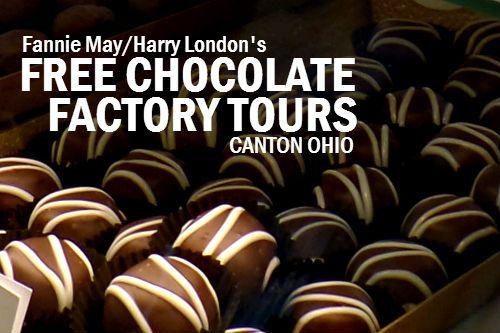 FREE Chocolate Factory Tours Canton Ohio