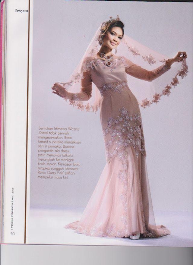 Image dress labuh pengantin