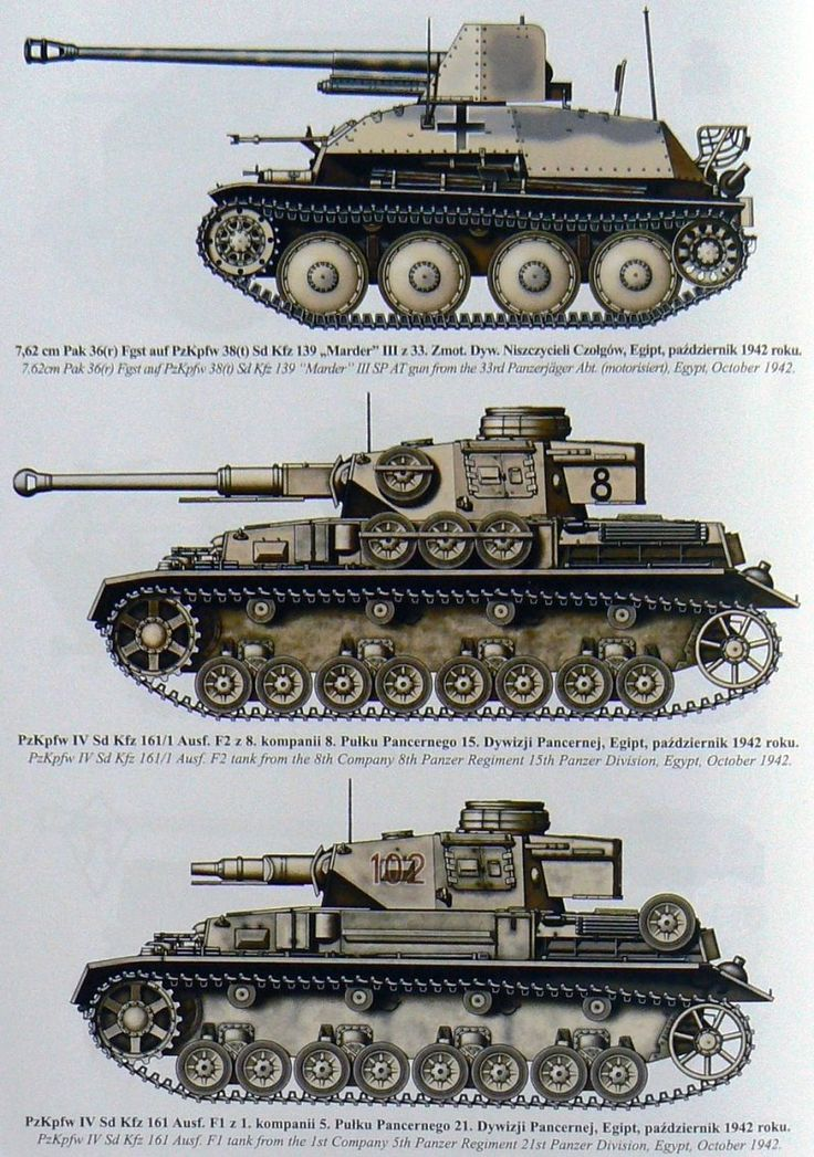 DAK fighting vehicles