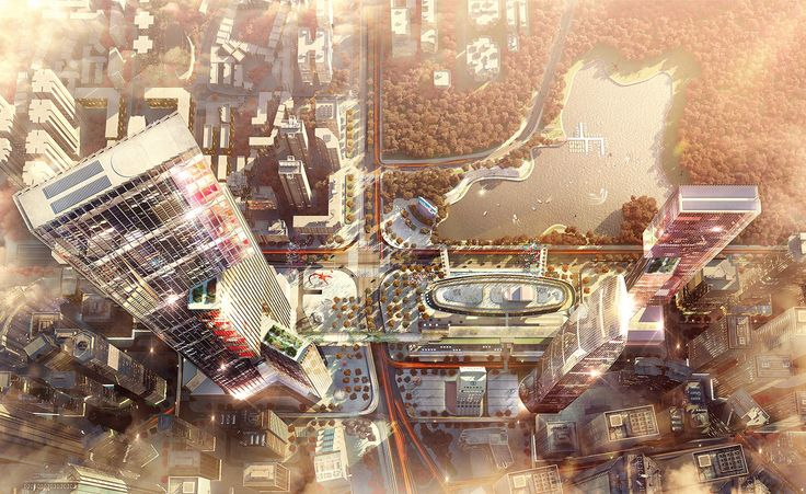 London-based architecture firm PLP has revealed plans for a mixed-use complex in China's Pearl River Delta. The result of a competition win, Nexus is an investigation for 'an alternative to the high-rise point tower typology', explain the architects. T...