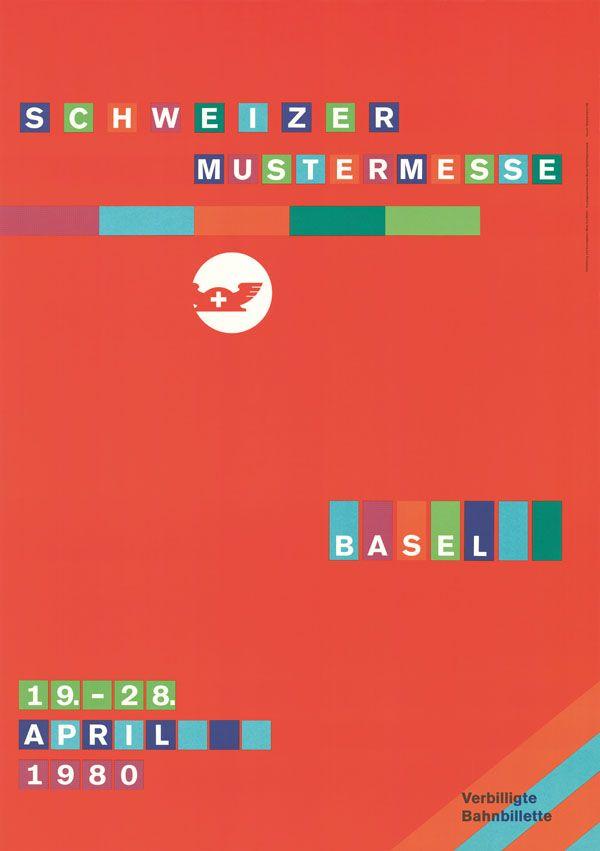 Beat Schifferli, Schweizer Mustermesse Basel, 1980