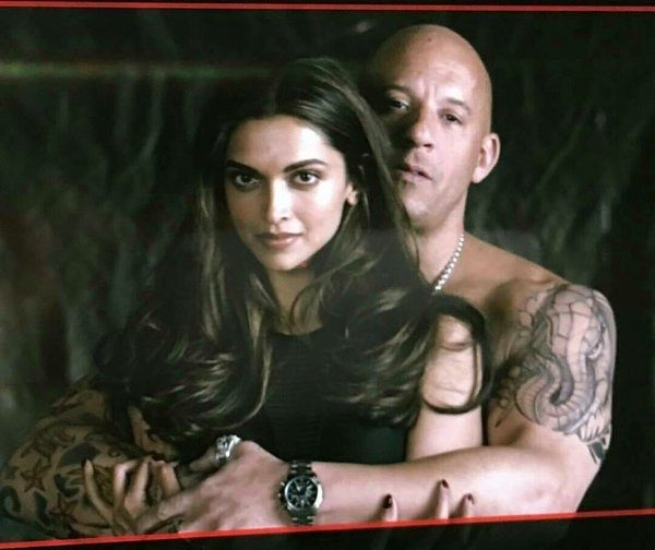 "Diesel shared this total tease of a picture on his Instagram page. | Deepika Padukone And Vin Diesel Look Hella Hot In The First Look Of ""xXx: The Return Of Xander Cage"""