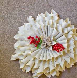 French Style Paper Wreath X-Large - Recycled...