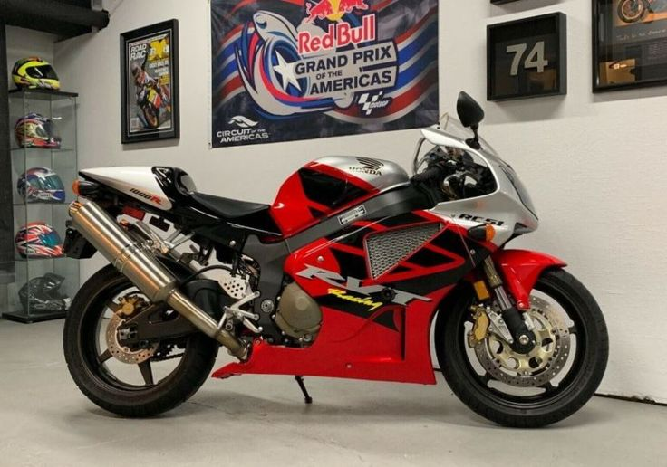 977 Miles – 2003 Honda RC51