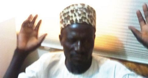 This is the face of the man who defiled a seven months old baby. He is 55, and the seven months old baby is his step daughter. It happened in Kastina and he is currently being held by the police while the baby is responding to treatment at Turai Yar'Adua Maternity and Children Hospital.