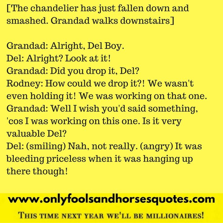 Only Fools and Horses A Touch of Glass