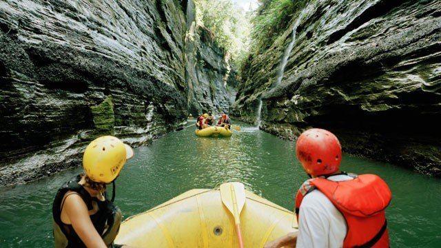 White-Water Rafting on Upper Navua River, Viti Levu | Fiji :: Yes please!