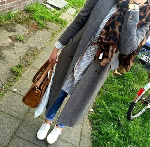 chic-winter-hijab-style- Hijab trends from the street http://www.justtrendygirls.com/hijab-trends-from-the-street/