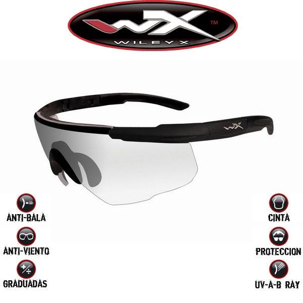 Gafas transparentes Wiley X Saber Advanced. Máxima protección. Resisten el impacto de bala. Homologadas para trabajos donde los ojos han de estar protegidos. Elegantemente construidas y diseñadas. No es una imitación. ¡Es la auténtica Wiley X! #wileyx #saberadvanced #gafas #sunglasses