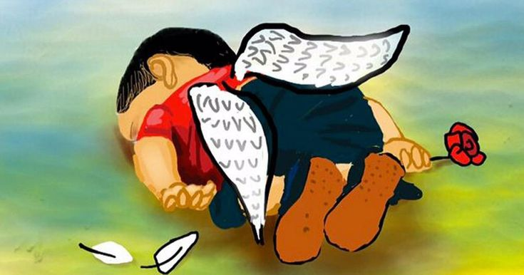 Artists Around The World Respond To Tragic Death Of 3-Year-Old Syrian Refugee   Bored Panda