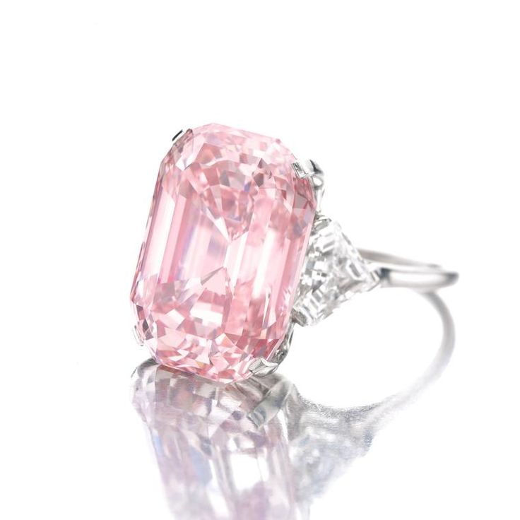 "The Graff Pink was named after its owner Laurence Graff, who proclaimed the 24.78ct gem ""the most fabulous diamond"" he had ever seen. Discover the most expensive rings in the world: http://www.thejewelleryeditor.com/jewellery/know-how/most-expensive-ring-in-the-world/ #jewelry"