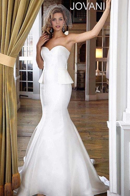 Peplum Wedding Dress JB2633
