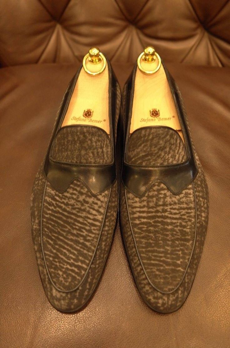 Stefano Bemer made to order shark loafer for a Singapore client.