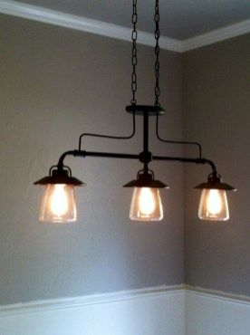 Amazing Lighting Over Kitchen Table Ideas 34