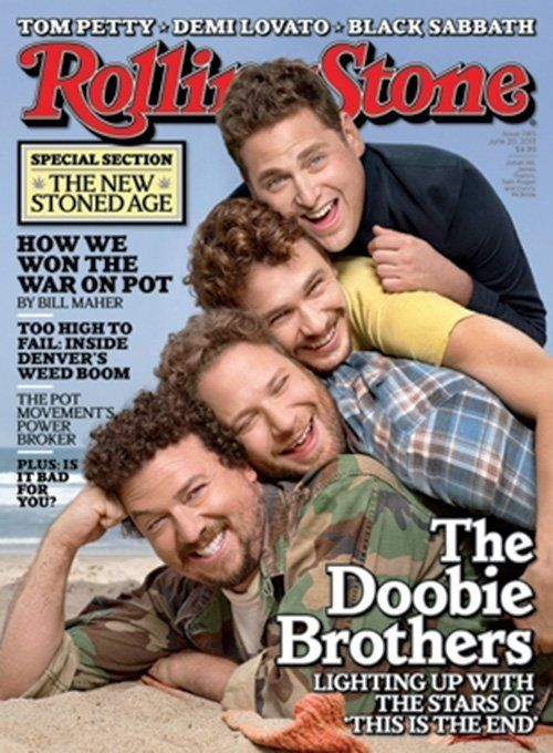 Seth Rogen, Danny McBride, James Franco and Jonah Hill (dammit Jonah Hill has grown on me as much as I hate to admit it)