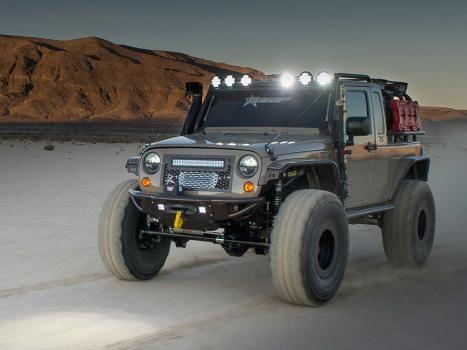 Jeep JK Products | Rigid Industries | 2007-2013 Jeep JK OE Mounts