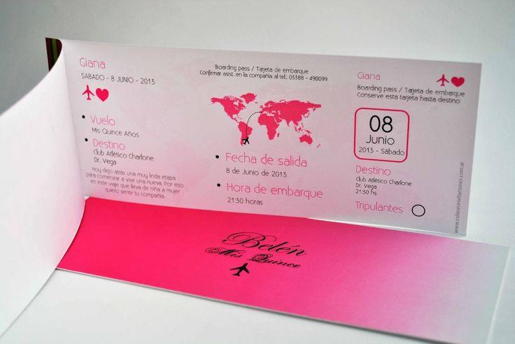 Invitaciones Y Tarjetas De 15 Casamientos Bautismo Comunion | Jual ...