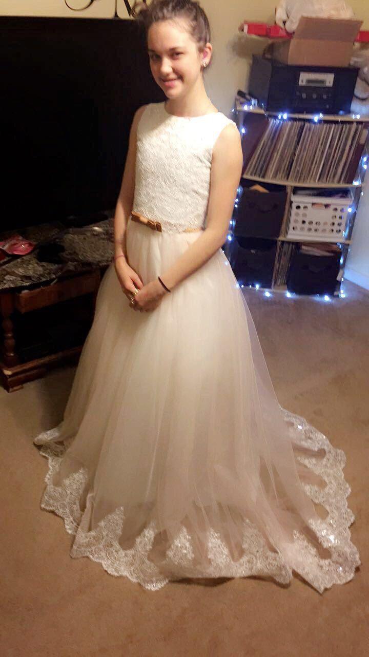 b0e215f29c630 Custom Made Flower Girl Dresses For Wedding A Line Princess Tutu ...