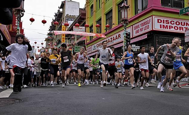 To one day run benefit 5K, 10K, half-marathon and marathons.