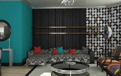 Grey and Brown room paint combinations | Modern living room paint colors and wallpaper, bright living room ...