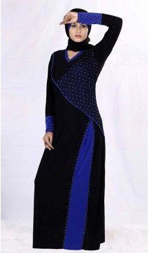Lycra Islamic Burqa Hijab and Abaya Collection in Black | FH525379508 #trendy, #highquality, #islamic, #clothing, #women, #hijab, #fashion, #dresses, #jilbabs, #hijabs, #shawls, #islamic, #muslim, #burqa, #niqab, #wedding, #store, #boutique, #dubai, #pakistani, #mordern, #heenastyle, #readymade, #black, #color, @heenastyle