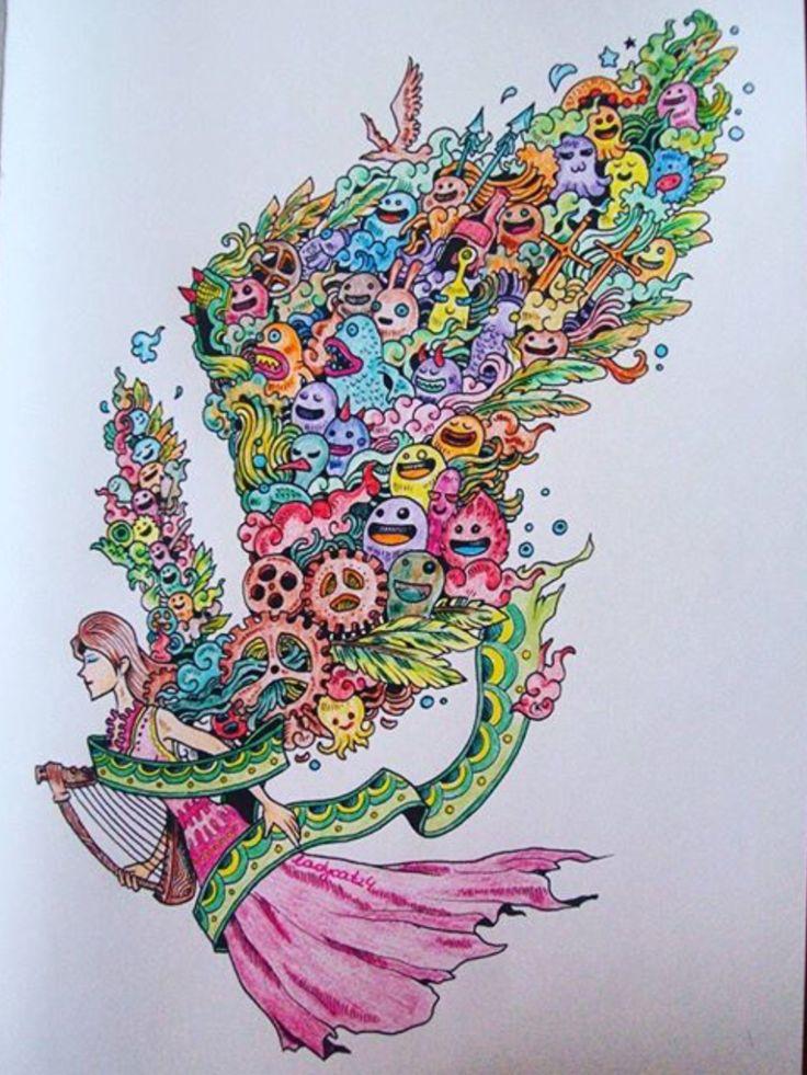 Doodle Adult ColoringColouringColoring BooksDoodles